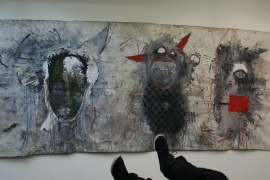 my most favourite painting at the vernissage