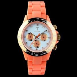 Flamingo Coral Chrono