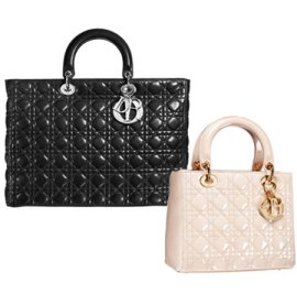 the immaculate Lady Dior bag