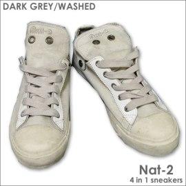 Nat-2 dark grey washed