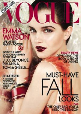 US Vogue July 2011 - Emma Watson