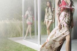 Vera Wang Spring 2012 Ad