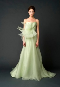 Vera Wang Spring 2012 Bridal Couture