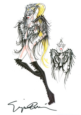 Lady Gaga Armani The Born This Way Ball Tour