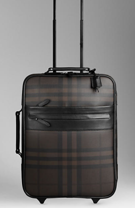 Burberry Classic Brown Suitcase