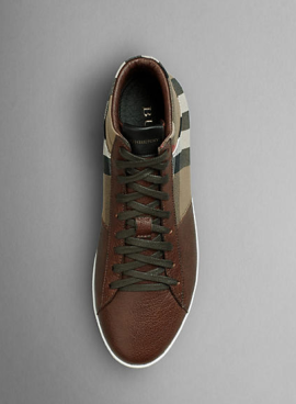 Burberry House Check High-Top Trainers Full