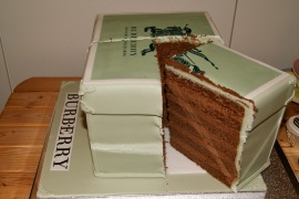 the Cut Burberry Cake