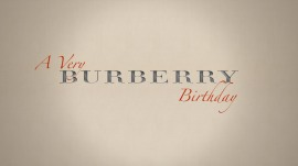 Invitation to 'a Very BURBERRY Birthday'