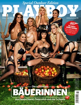 Playboy Cover November 2012